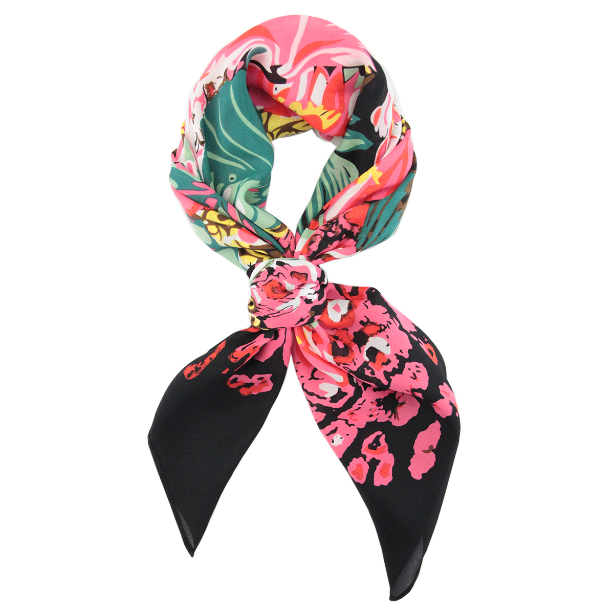 Foulard Soie Jungle